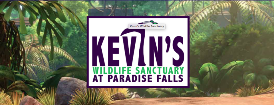 Kevin's Wildlife Sanctuary at Paradise Falls