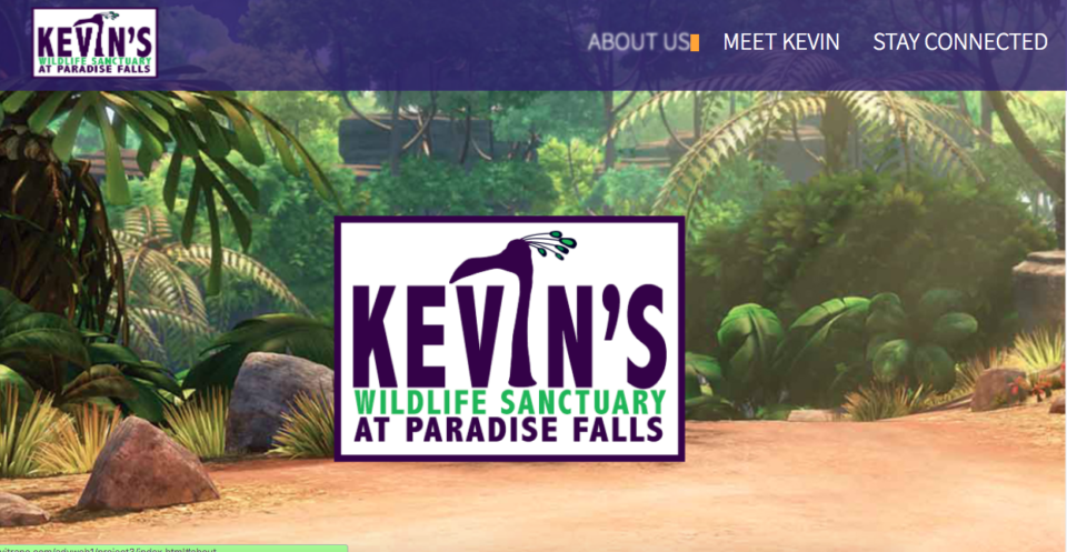 Kevin's Wildlife Sanctuary homepage