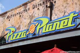 Pizza Planet Logo Hollywood Studios