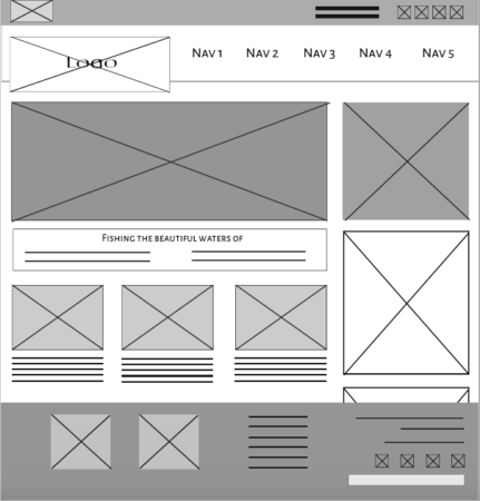 TSR wireframe version 1